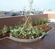 屋上・ベランダ緑化工事施工事例